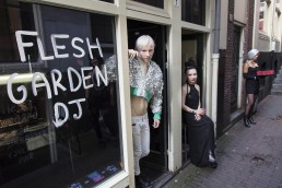 Flesh Garden art exhibition amsterdam studio mimik