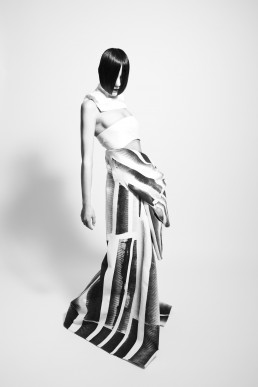 Figurine fashion editorial studio mimik